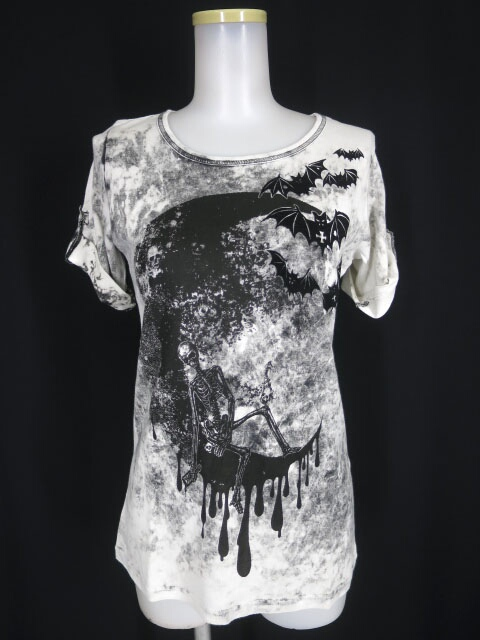 ALGONQUINS ムーンスカル Tシャツ