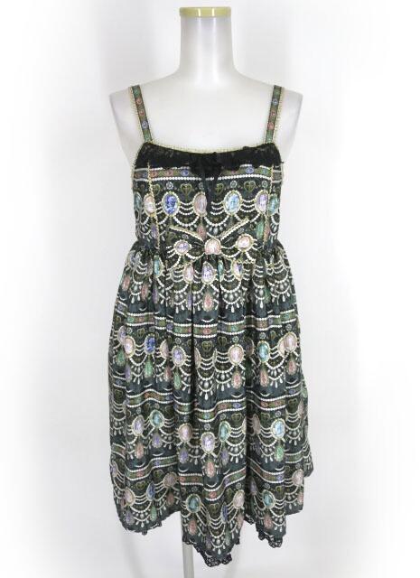 Angelic Pretty Dreamy Jewelハイウエストジャンパースカート