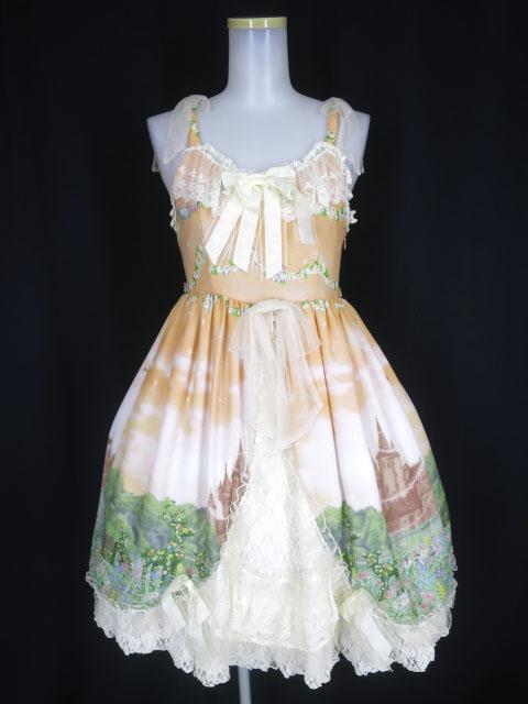 BABY, THE STARS SHINE BRIGHT Fairy Topialium ~Trifolium 仕立ての約束の森~柄 Pratense ジャンパースカート