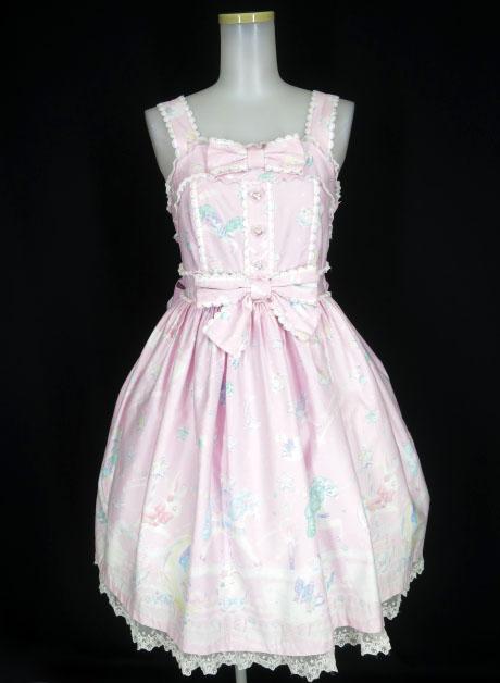 Angelic Pretty Candy Sprinkle ジャンパースカート
