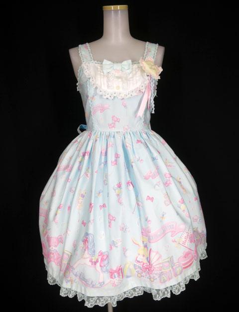 Angelic Pretty Dreamy ベビールームジャンパースカート