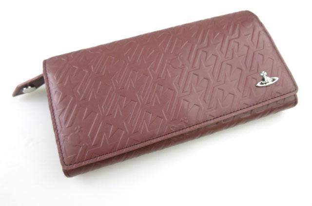 Vivienne Westwood スタートゥース エンボス柄 長財布