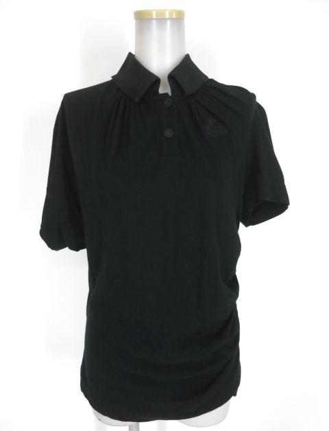 Vivienne Westwood ANGLOMANIA オーブ刺繍 アシンメトリーポロシャツ