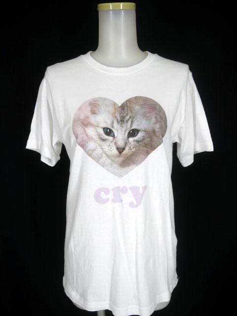 MILK Crying cat Tシャツ