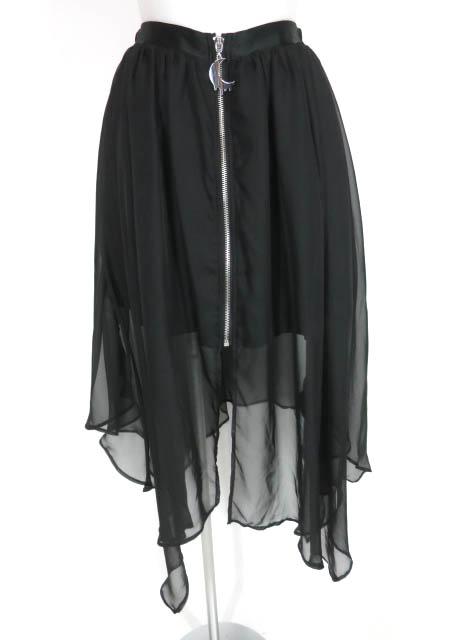LISTEN FLAVOR センタージップヘムラインレイヤードスカート