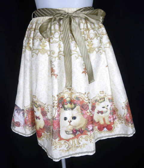 Enchantlic Enchantilly クイーンキャットスカート