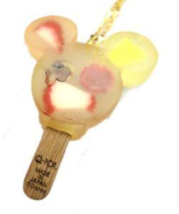 Q-pot ミッキーマウス ミックスフルーツ アイスキャンディー・ネックレス