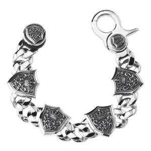 Justin Davis Shield Bracelet シールドクリップブレスレット(8inch) SBJ101