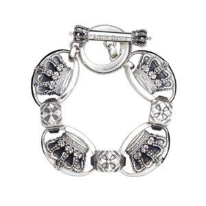 Justin Davis LARGE QE Bracelet ラージQE クラウンブレスレット SBJ117