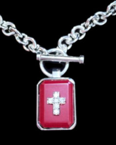 Justin Davis Eminem Necklace エミネム ネックレス (Red) 50cm SNJ115