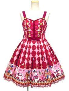 Angelic Pretty TOY MARCH ジャンパースカート