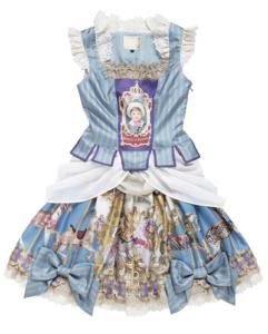 Juliette et Justine Un manege robe 回転木馬のドレス
