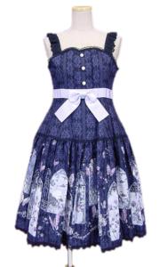 ALICE and the PIRATES 真夏の夜の夢ジャンパースカートI型(紺)