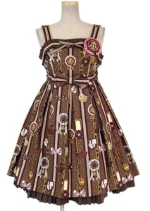 Angelic Pretty Chocolate Rosetteジャンパースカート