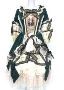 BABY,THE STARS SHINE BRIGHT La robe de la Reine pour Midori ワンピースドレス