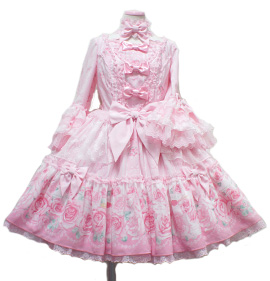 Angelic Pretty Romantic Rose Letter ワンピース