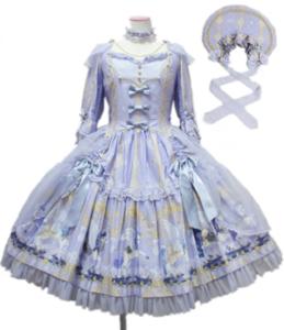 Angelic Pretty Crystal Dream Carnival Dress Set