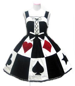 Angelic Pretty クィーントランプジャンパースカート