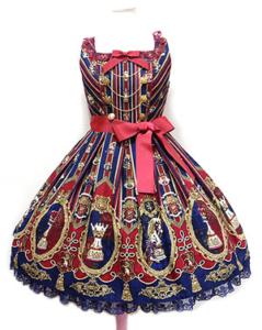 Angelic Pretty Chess Emblemジャンパースカート