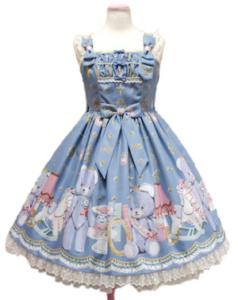 Angelic Pretty Charlotte's Bearジャンパースカート
