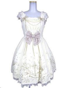 Angelic Pretty グローリア肩フリルジャンパースカート