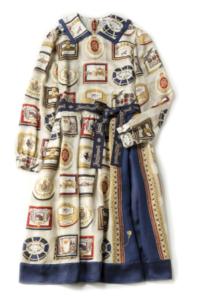 Jane Marple Royal chocolateのコレットドレス