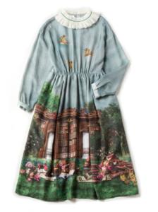 Jane Marple Holy libraryのアフタヌーンドレス
