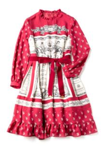 Jane Marple Queen's tableのコレットドレス