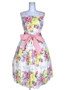 Jane Marple Beautiful Bouquetのアフタヌーンドレス