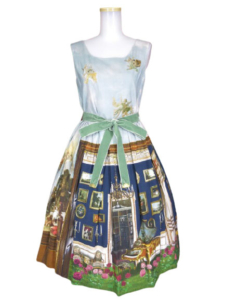 Jane Marple English Manor Houseのドレス