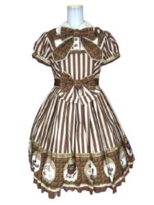 Angelic Pretty Meltyチョコレート ジャンパースカート・ワンピース