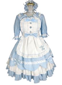 Angelic Pretty Heart CafeワンピースSet